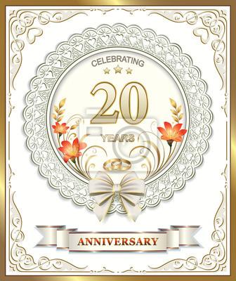 Glückwünsche 20 hochzeitstag
