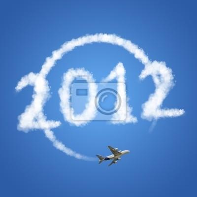 2012 Reisen die Welt, Wolken Konzept