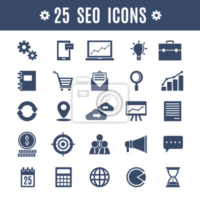 25 seo icons