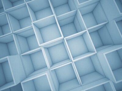Bild 3d abstrakte Würfel Hintergrund