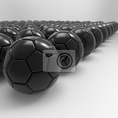 3D Darstellung der Fußball