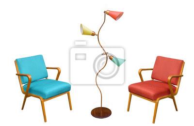 Bild 60er 70er Jahre Möbel Sessel Aus Den Sechziger Jahren