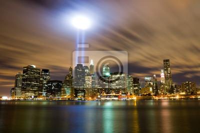 Bild 911 Licht Memorial in New York City