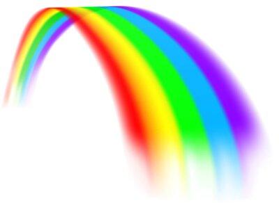 Bild A colorful rainbow design element concept