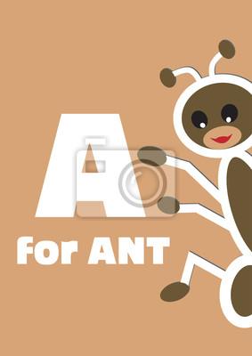 A für die Ameise, ein Tier-Alphabet für Kinder