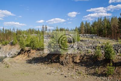 Merveilleux Bild Abandoned überflutet Tagebau Steinbrüche Chromit Erz Mit Wasser
