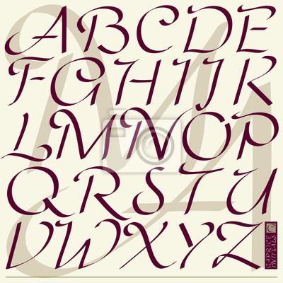 """ABC - """"Caprice Initialen"""" font"""