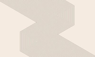 Bild abstract art lines background. monochrome stripes