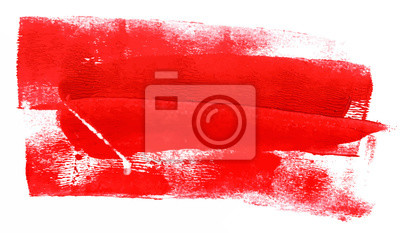 Bild Abstract background with red paint strokes; scalable vector