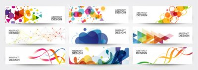Bild abstract banners