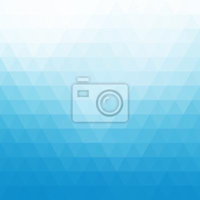 Bild Abstract blue geometric background