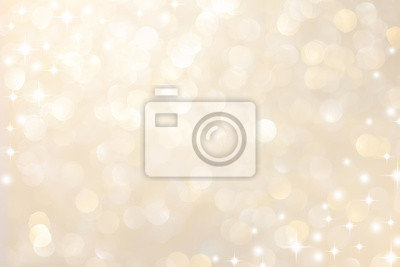 Bild abstract blur soft gradient gold color background with star glittering light for show,promote and advertisee product and content in merry christmas and happy new year season collection concept