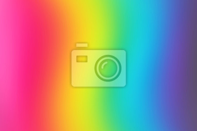 Bild Abstract blurred rainbow background. Colorful wallpaper. Bright colors.