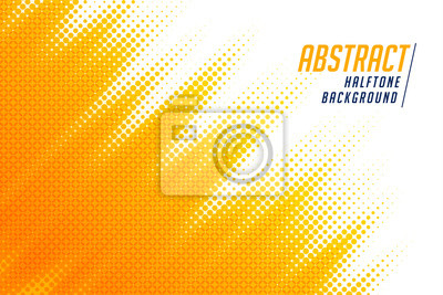 Bild abstract; bright yellow diagonal halftone background design
