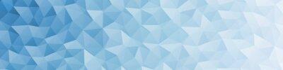 Bild Abstract Delaunay Voronoi trianglify color diagram background illustration