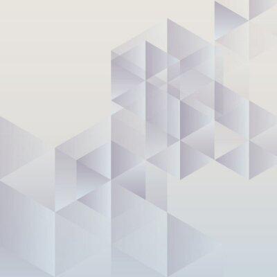 Bild Abstract geometric background, modern triangular design