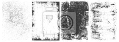 Bild Abstract grunge rectangular frames collection