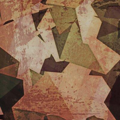 Bild Abstract grunge Wand Hintergrund, Kubismus