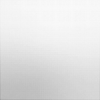 Bild Abstract halftone background in black and white. Dotted vector pattern.