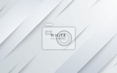 Bild Abstract light silver background vector. Modern diagonal white background.
