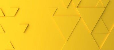 Bild Abstract modern yellow triangle background