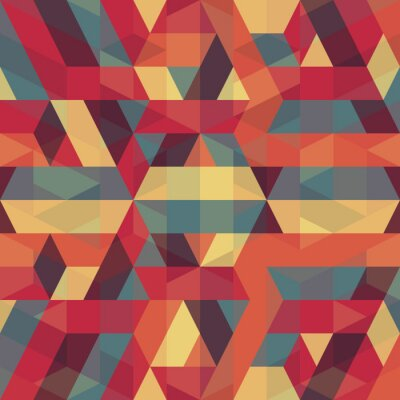 Bild abstract retro geometric pattern