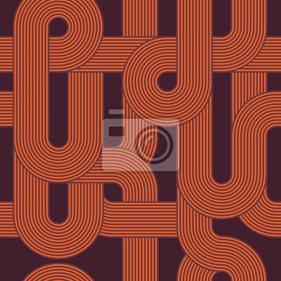 Abstract retro Kachelmuster Linien Hintergrund