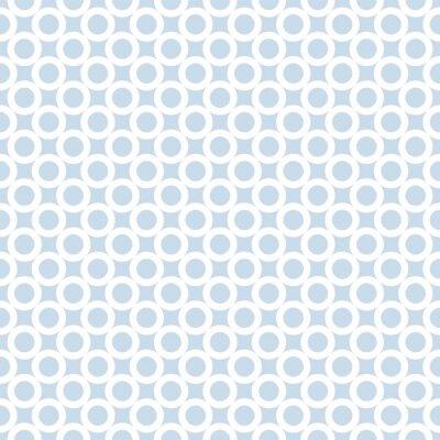 Abstract simple diagonal circles seamless pattern.