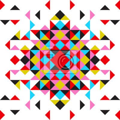 Abstract vector geometrischen Hintergrund, Dreiecke