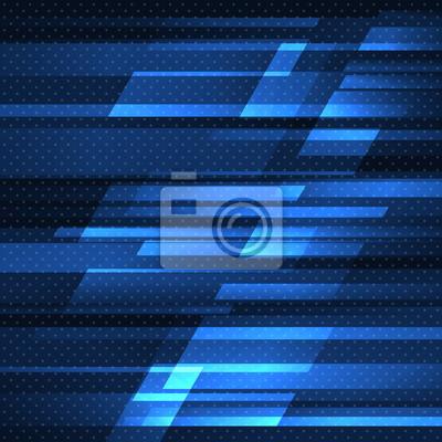 Bild Abstract vector Hintergrund mit blauen Streifen