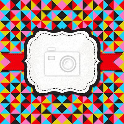 Abstract vector Hintergrund mit Rahmen