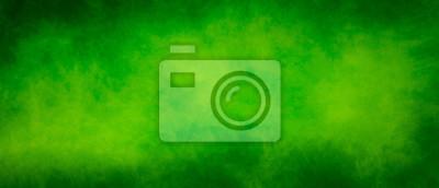 Bild Abstract vintage green splash design background with dark borders
