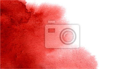 Bild Abstract watercolor red background for your design.