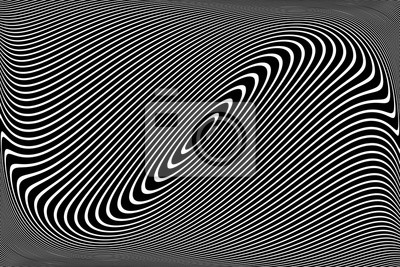 Abstract wavy lines design.