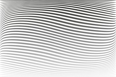 Abstract wavy lines striped texture and background.