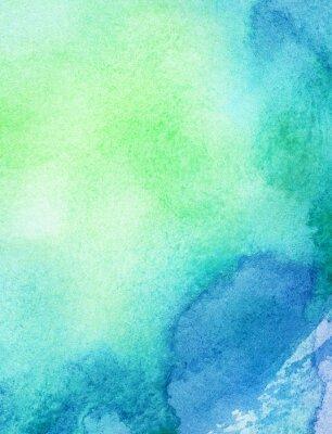 Bild Abstrakt Aquarell Hintergrund gemalt