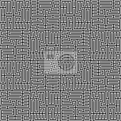 Abstrakt Chains Pattern