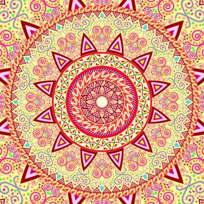 Bild Abstrakt Ethnische verzieren Hintergrund für Design