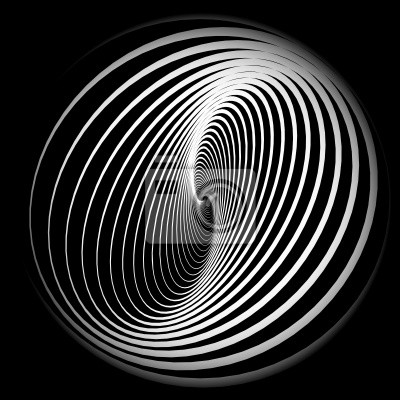 Abstrakt Hintergrund mit Spirale Bewegung.