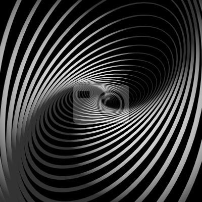 Abstrakt Hintergrund mit Spirale Wirbel Bewegung.
