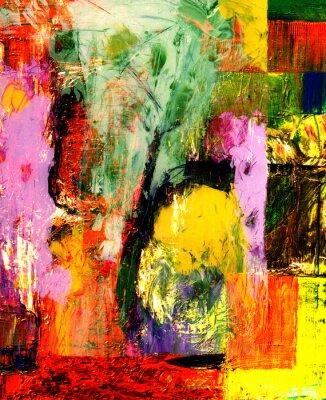 Bild Abstrakt Oil