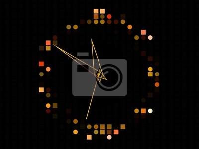 Bild Abstrakt Zeit-Hintergrund