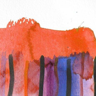 Bild Abstrakte Aquarell Hintergrund Design