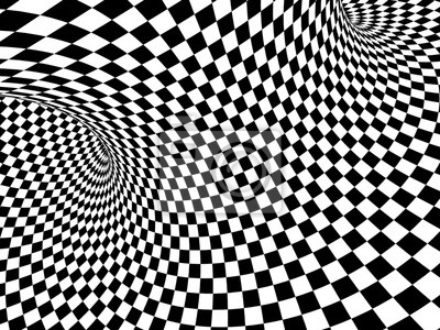 Abstrakte Illusion