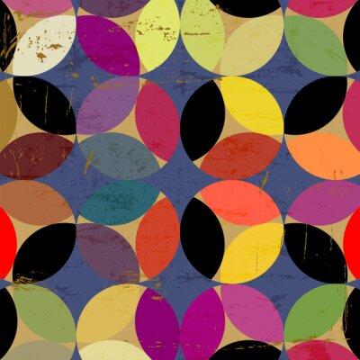 Bild abstrakte Kreismuster