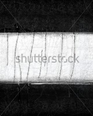 Bild Abstrakte Schwarzweiss-Kunst-Malerei