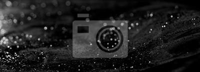 Bild Abstrakte Unschärfe schwarz Bokeh Hintergrund