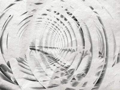Bild Abstrakte weiße Spirale Illustration Hintergrund