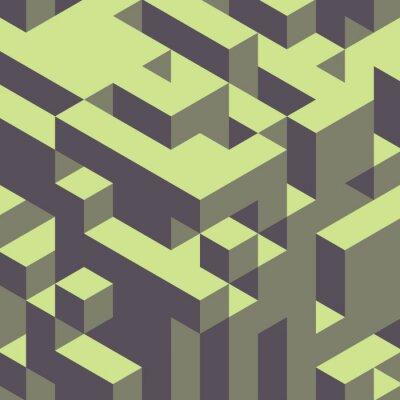 Bild Abstrakten geometrischen 3d bunten Hintergrund.