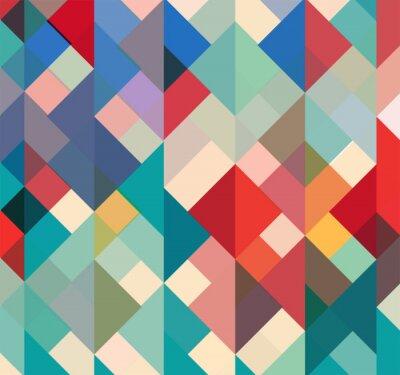 Retro Farben.Bild Abstrakten Geometrischen Hintergrund Mit Stilvollen Retro Farben